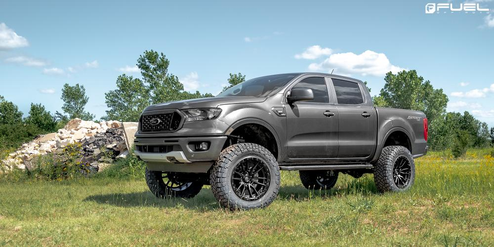 Fuel Wheels Rebel D679 Ford Ranger