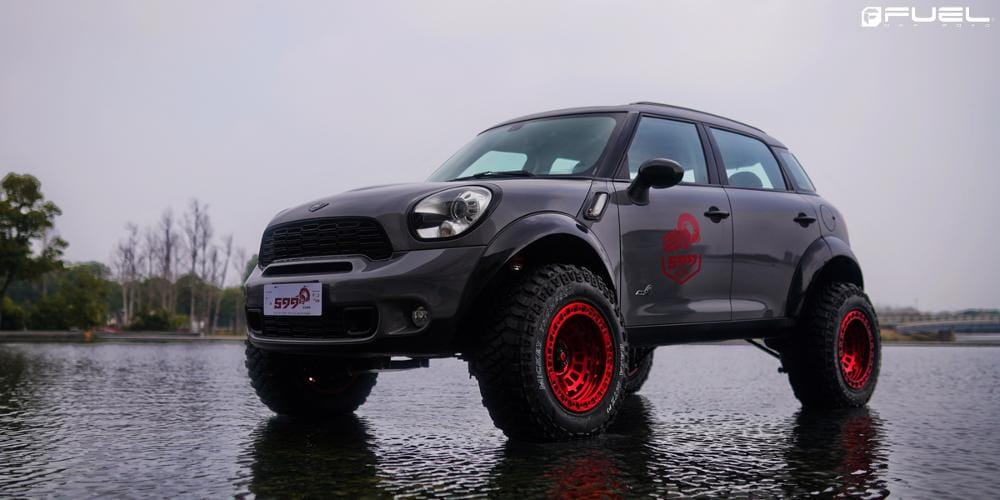 Fuel Wheels Zephyr Beadlock D100 Mini Cooper