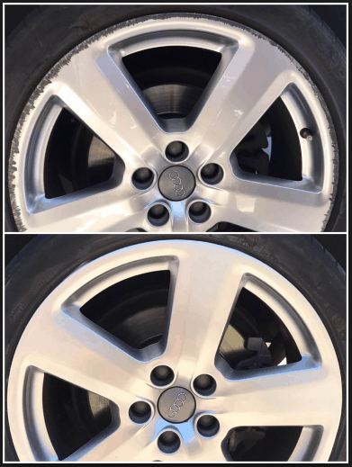 Wheel Repair Before v After